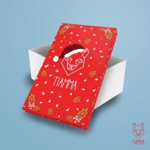 Veselá vianočná krabička