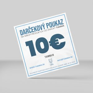 Poukážka 10 €