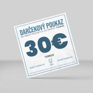 Poukážka 30 €
